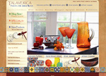 Talaverica Website and Online Store