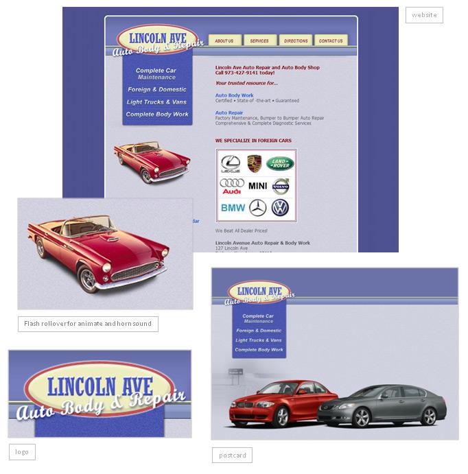 Lincoln Ave Auto Webstie