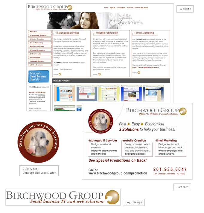 Birchwood Group Website Fabrication