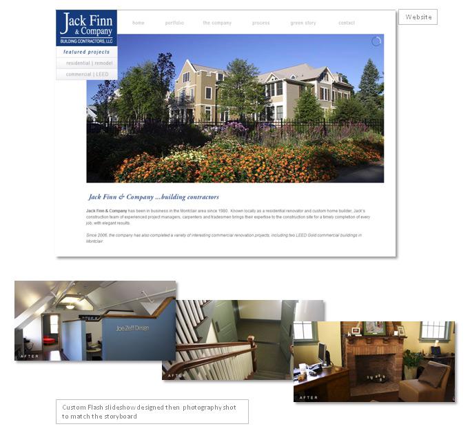 Finn Builders website