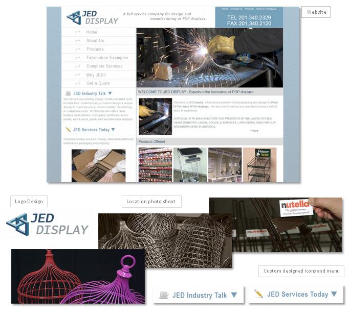 JED Design website