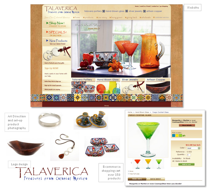 Talaverica Website